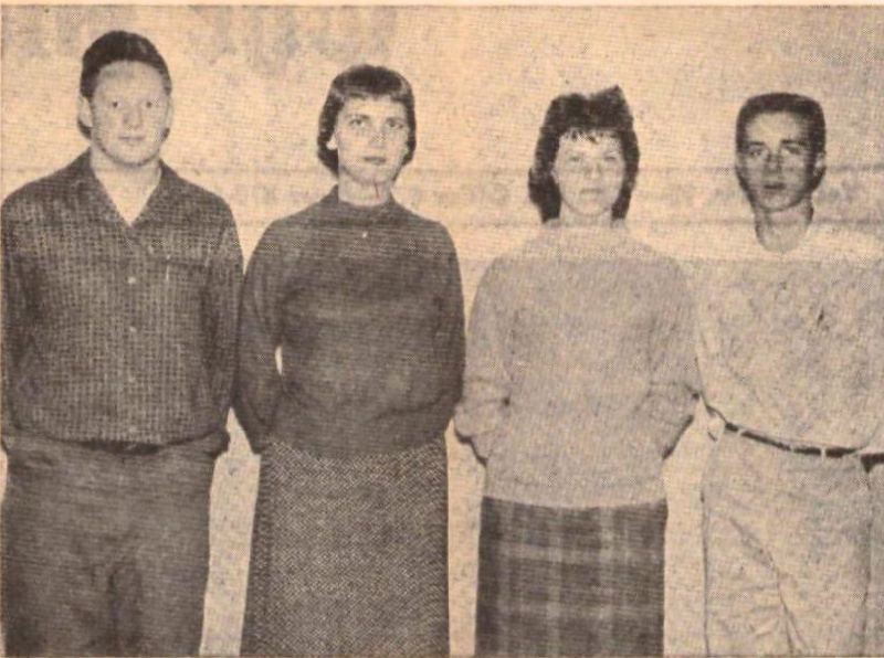 1960 Class Officers
